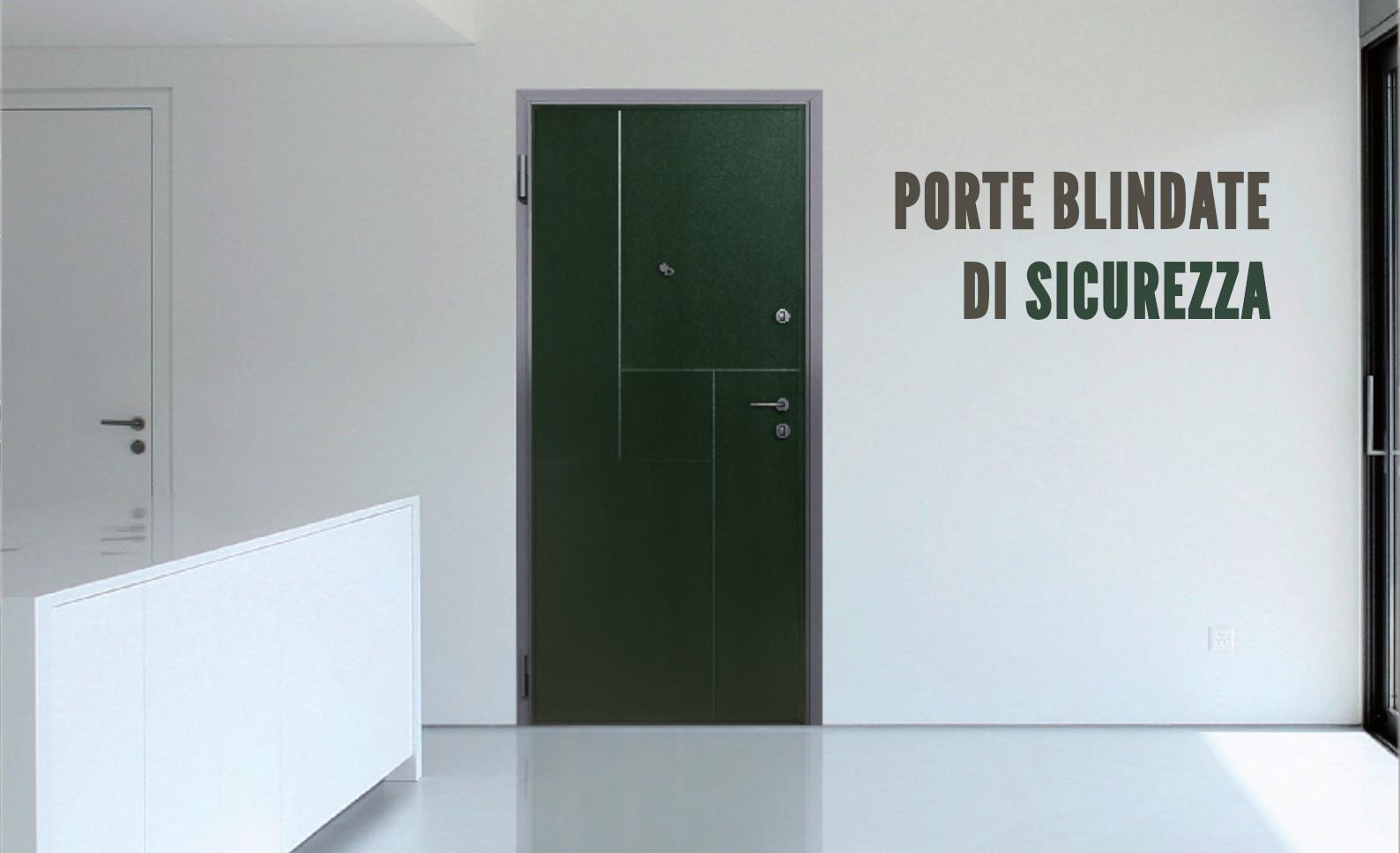 Porte blindate di sicurezza