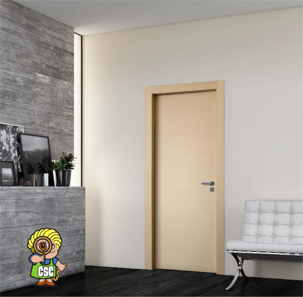 Porta Laccata Dorica Castelli Bios B401 Trame Di Noce Lattemiele