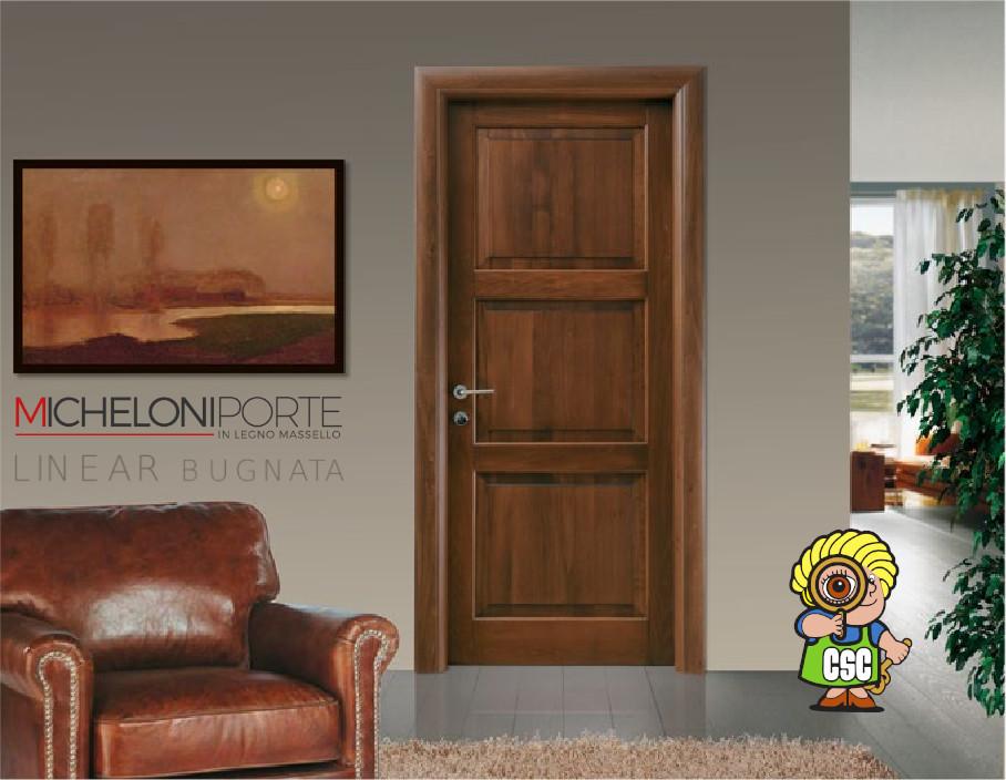Porta Legno Micheloni Porte Linear Bugnata