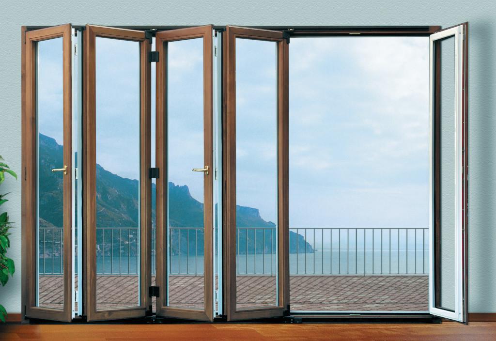 Finestra in legno e alluminio Solarium Magnifica Multisolar