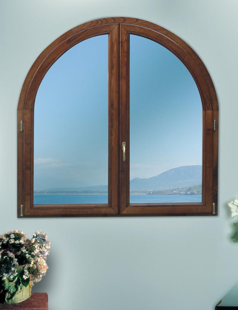 Finestra in legno e alluminio Solarium Solarco
