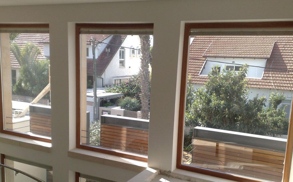 Finestre in legno e alluminio Solarium