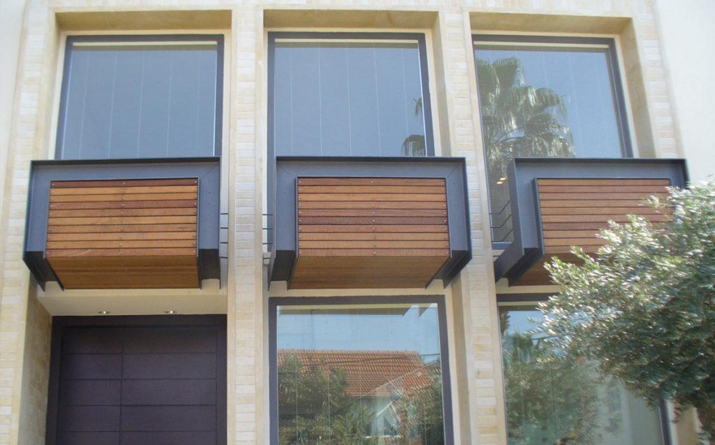 Vetrate in legno e alluminio Solarium