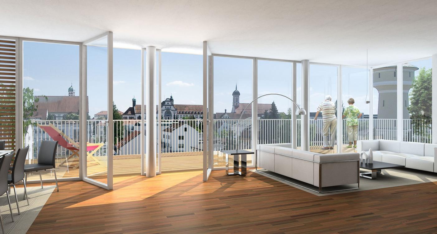 Porte finestre Solarium