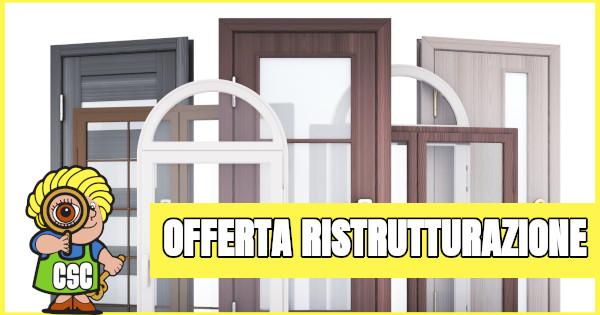 Offerta ristrutturazione