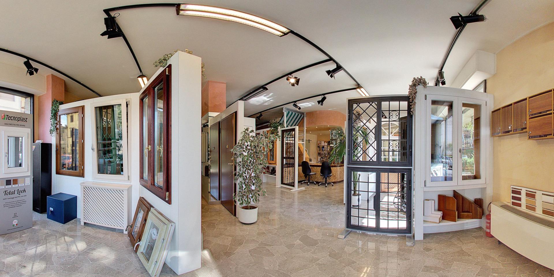 Panoramica showroom