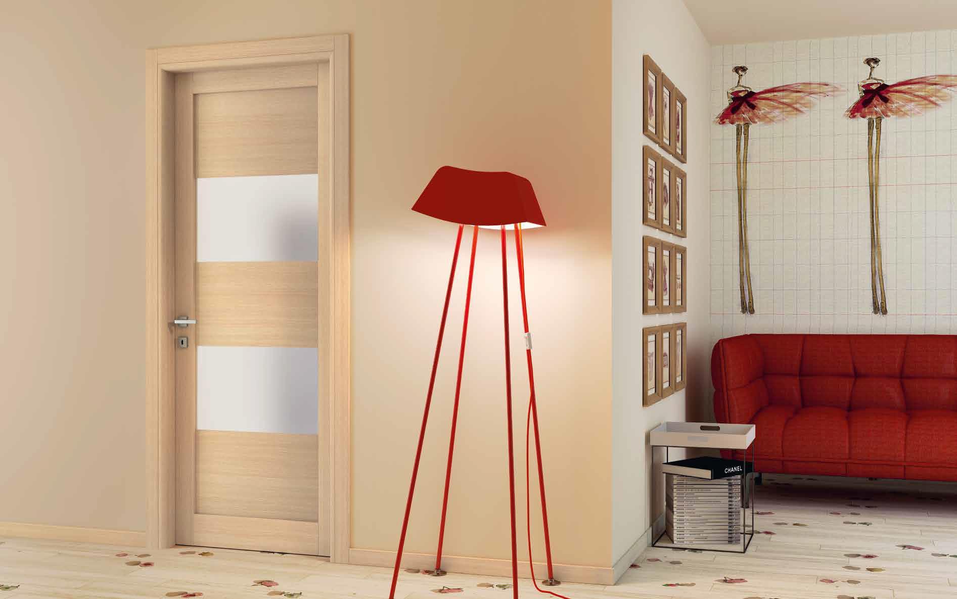Porta in laminato Manuello Design Poroak 622 rovere