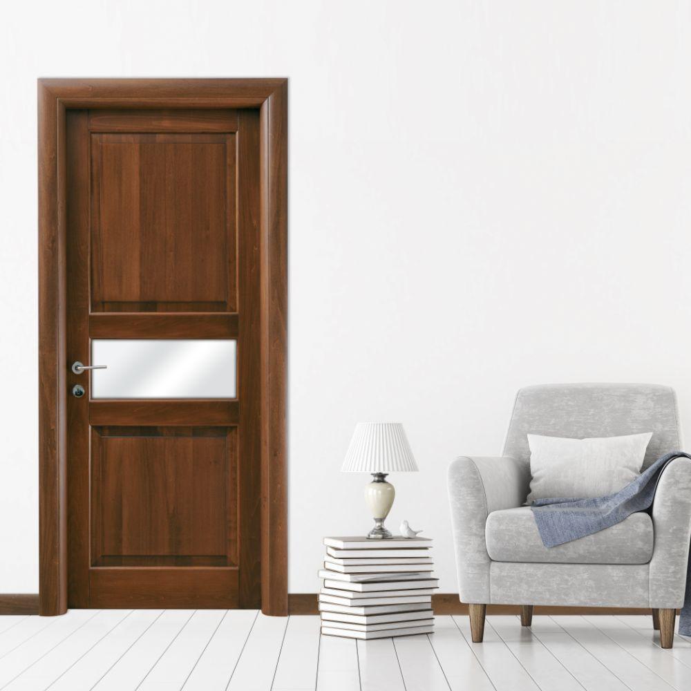 Linear bugnata micheloni porte firenze vetro cottonwood medio