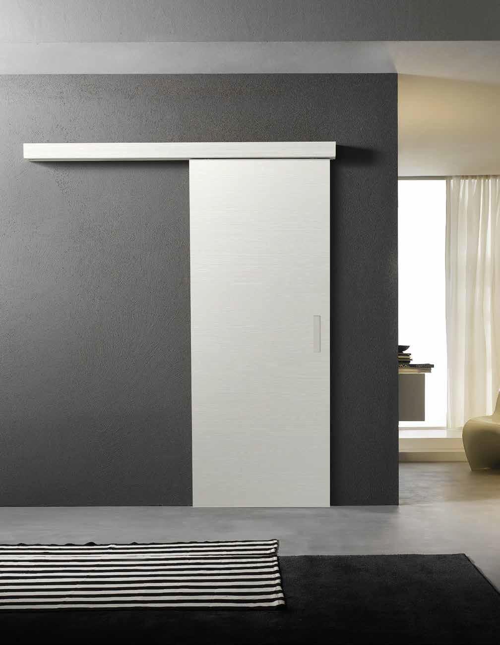 Porta laccata scorrevole Dorica Castelli collezione Composit linea Romantica modello C401