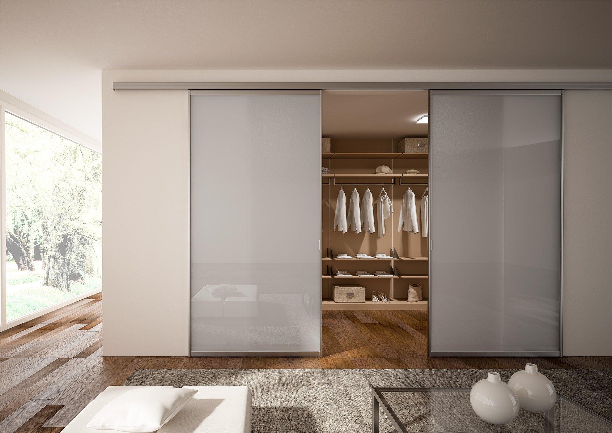 Porta in vetro Glamour Design Frame