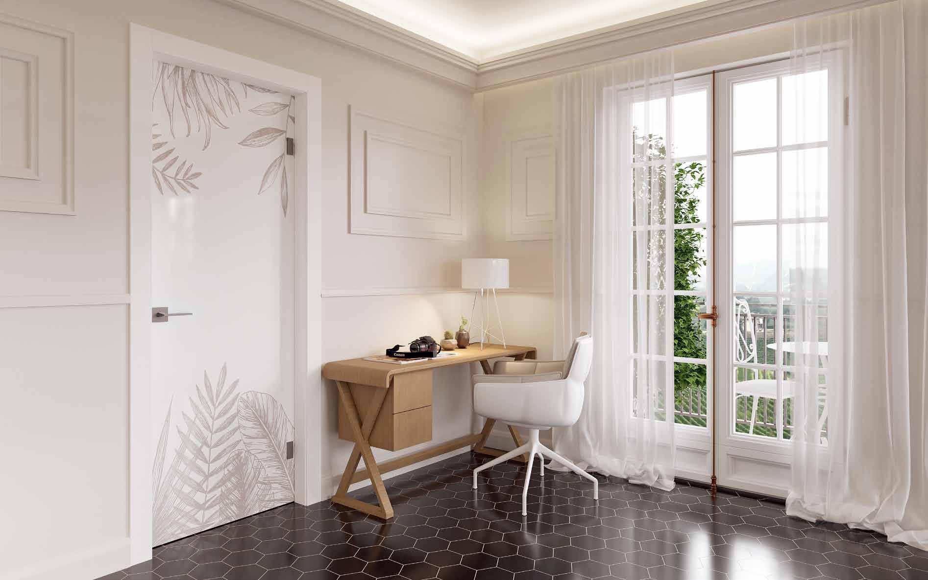 Porta in vetro Manuello Design Forest